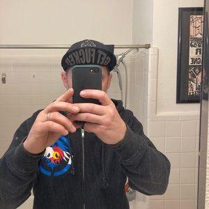 GET F%#KED punk rock flip up hat